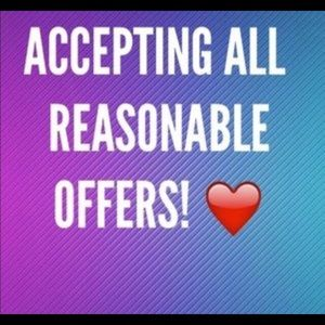 Tops - Accepting all reasonable offers
